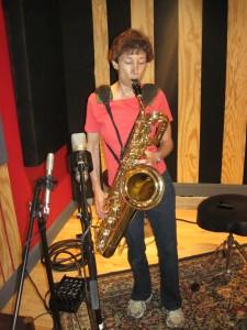 bari at recording session 2012